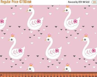 Midsummer Dream Sale BW Jersey 'Swan Princess'