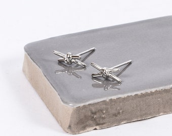 Sterling Silver Just The Two Of Us Studs