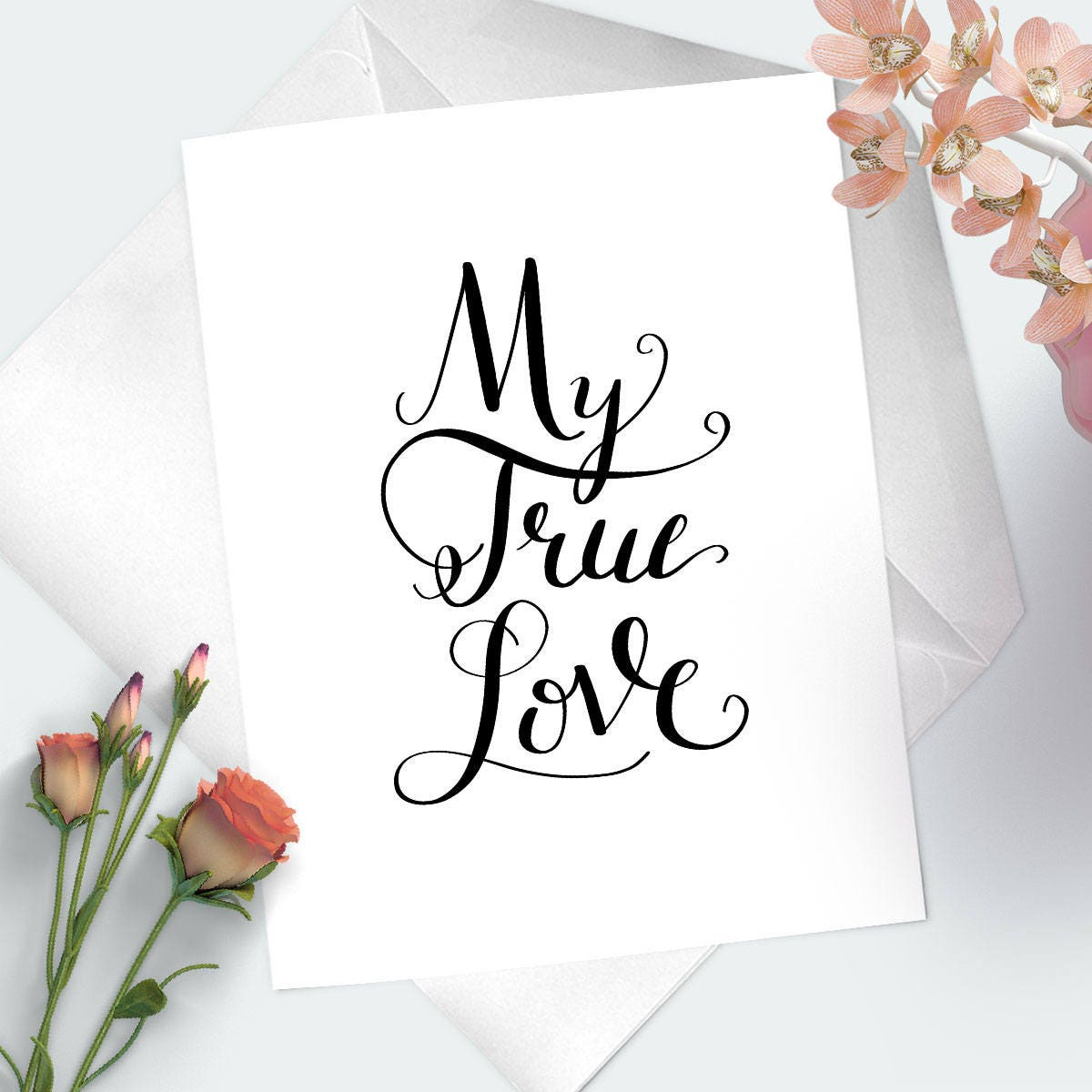 My true love anniversary card for wife birthday card for my true love anniversary card for wife birthday card for girlfriend i love bookmarktalkfo Images