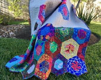 Bright color quilt   Etsy : bright colored quilts - Adamdwight.com
