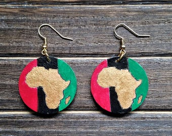 Small Africa Earrings