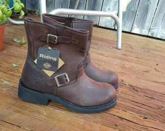 Harley Davidson brown boots/ men's size 10