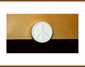 Peace Sign Soap, Goat Milk Soap, Unscented Soap, Scented Soap, All Natural Soap