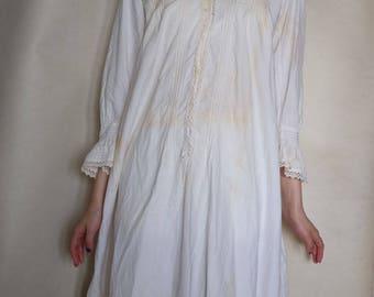 Original 1930s Cotton Night Dress