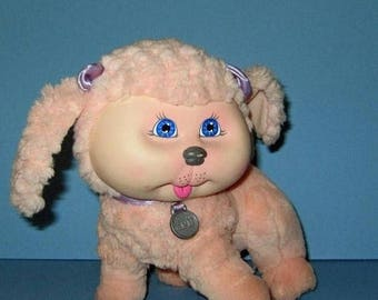 SALE Cabbage Patch Kids, Adopt and Luv, Mattel Pink Poodle,  Vintage 1980s, Original Box  Included