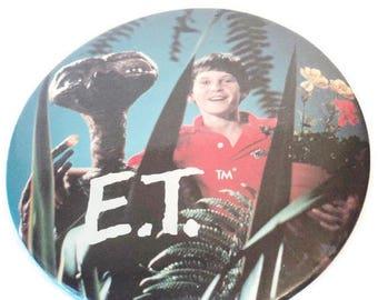 On Sale Vintage E T Pin Original Oversize Collectible Movie Memorabilia