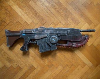 Gears of War 4 Custom Lancer Prop/Replica - Made to Order