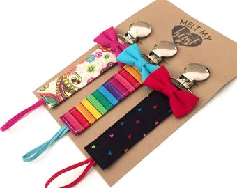 Pacifier Clips - Kristy Collection
