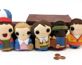 Stranger Things plushies set (made to order)