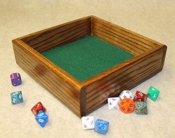 Dice tray (Oak)
