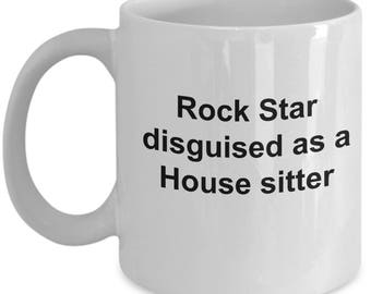Funny House Sitter Coffee Mug