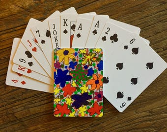 Deck of cards featuring art by Leroy Morvant