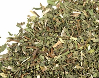 SPEARMINT DRIED - 8 OZ.  Whole Cut and Sifted Organic Herb Dried Herbal Tea