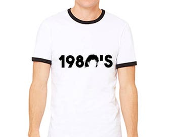 King of the 80s Ringer Jersey Tee 3055