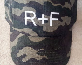 R+F Camo Hat