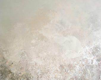 """Abstract painting: Untitled """"grey"""""""