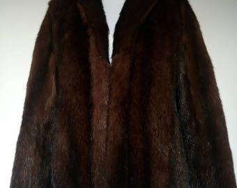 1960s Mink Fur jacket size M