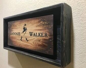 JOHNNIE WALKER Liquor Light Up Sign