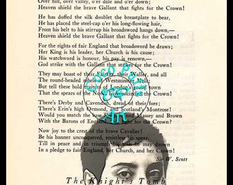 Maryam Mirzakhani Graphic Art Beautifully Upcycled Vintage Dictionary Page Book Art Print,Famous Mathematician