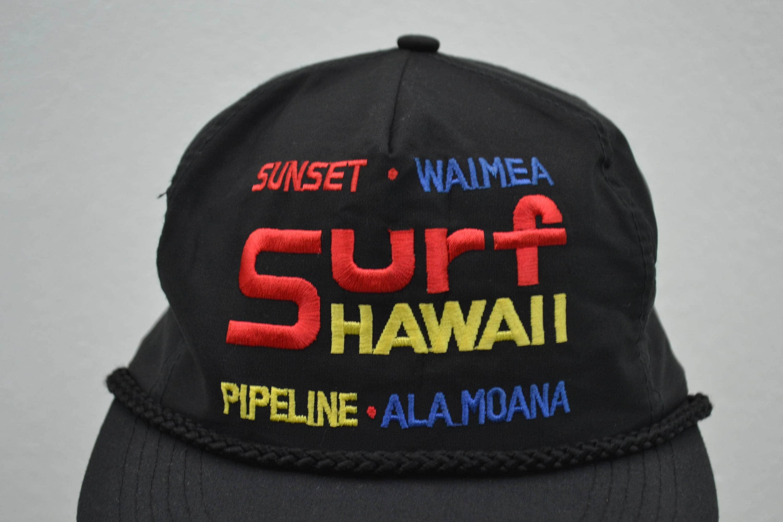 Hawaii Hat Vintage Surf Hawaii Snapback Hawaii Vintage Surf Cap 5 ...
