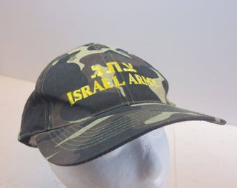 90s Israeli Army Camo hat vintage snapback