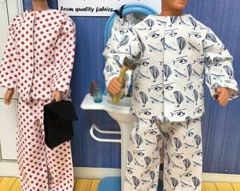 Pyjamas for Ken and chums.