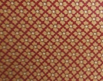 Thomas Strahan  Co. Vintage Arts & Crafts wallpaper Vintage wallcovering BTY~