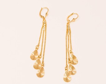14K Gold Filled Earrings/ Free Shipping in the US!