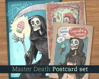 MASTER DEATH Postcard Set