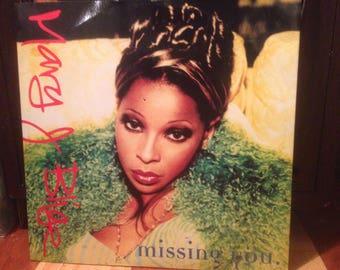 "Mary J. Blige - Missing You (12"" Single,UK Pressing) - Vinyl"