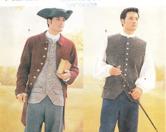 Butterick 3072 Men's Colonial Costume Pattern