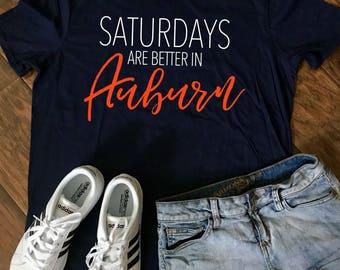 Saturdays are better in Auburn