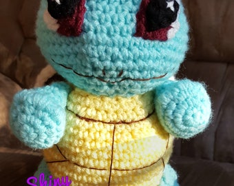 Squirtle inspired stuffie