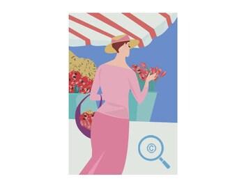 Beautiful Women Two Postcard