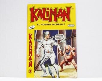 Kaliman El Hombre Increible No 127 El Faraon Sagrado Revista en Español Comic Book in Spanish RARE