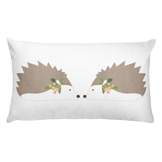 Hedgehog Rectangular Pillow