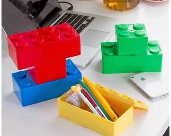 LEGO Inspired Stacking Drawer Organizer / Storage Box