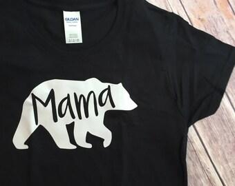 MAMA BEAR bear family bear shirts family shirt set papa bear sister bear brother bear baby bear