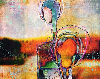 "Art Print ""Companionship"""