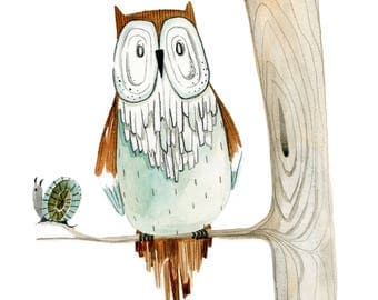 Lookout Owl