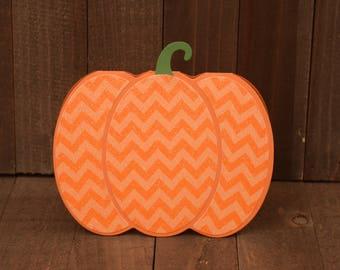 Pumpkin Card, Halloween Card , Halloween Pumpkin, Thanksgiving Card, Fall Greeting Card, Card For Friend, Handmade Card