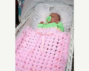SALE Pom poms rug_pom poms blanket_baby blanket_Digital Instant Download_layer blanket_unique handmade gift_PDF Pattern_ step by step tutori
