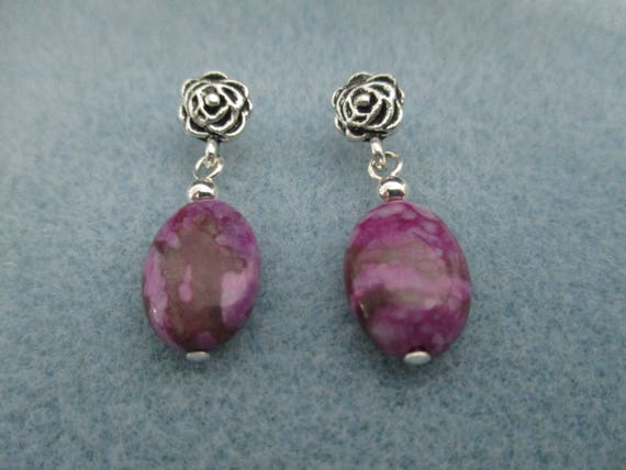 Sugilite Post Earrings E6161712