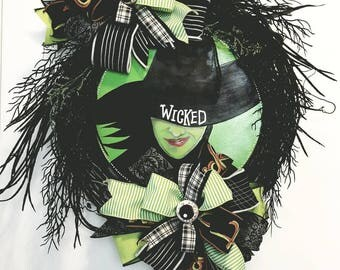 Halloween Wreath, Wicked Wreath, Witch Wreath, Halloween Grapevine Wreath, Halloween Decor, Door Decor, Witch Decor, Halloween Witch Wreath