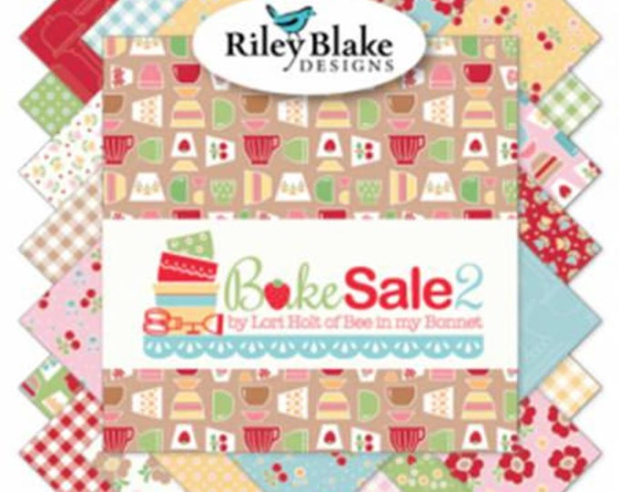 Bake Sale 2 by Lori Holt for Bee in My Bonnet for Riley Blake Fat Quarter Bundle 33 FQ
