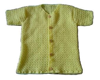 Yellow short sleeve - 4/6 years