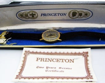 c322 Watch with Liberty Bell on Dial by Princeton--Bicentennial Watch Maybe
