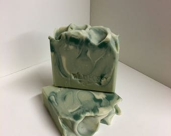Green Matcha Latte' Soap / Artisan Soap / Handmade Soap / Soap / Cold Process Soap