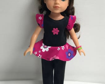 "American Girl 14-1/2"" Wellie Wishers Doll Outfit"
