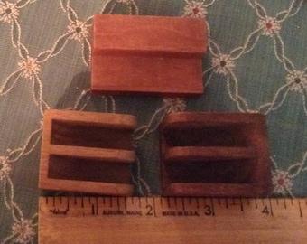 3 piece art deco Dollhouse furniture